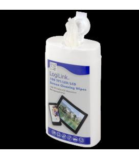 LogiLink Cleaning Wipes voor Beeldschermen 100st. klein