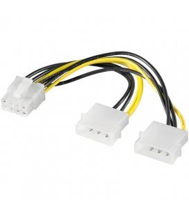 "Adapter 5.25""-Stroom --> 8-pins (2x4) Goobay"