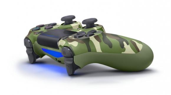 Camouflage Dualshock 4 komt uit in januari